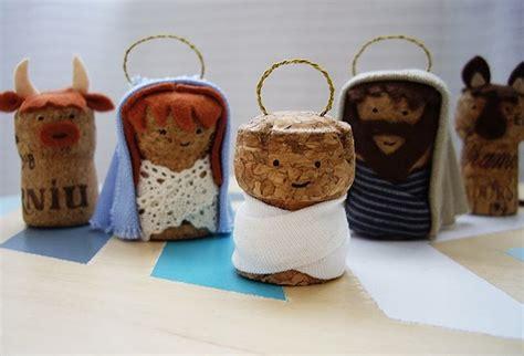como hacer las piezas del pesebre en material reciclable portal de belen original en navidad casero reciclado
