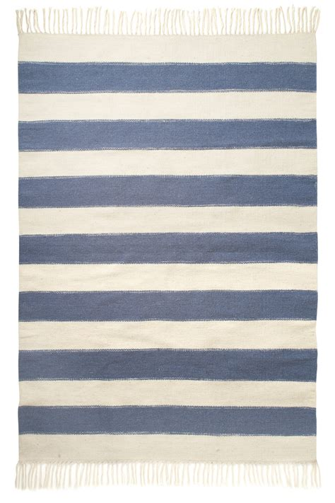 stripe rug blue stripe rug home season connection