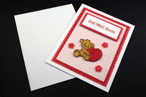 Handmade Get Well Cards - handmade squirrel get well soon card pictures ideas