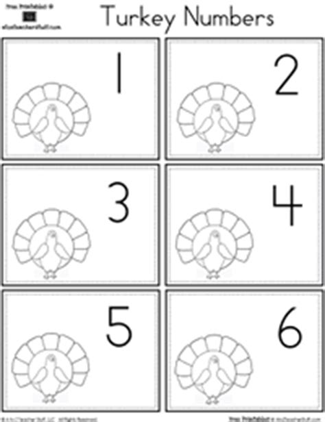 printable turkey calendar numbers page 2 math a to z teacher stuff printable pages and