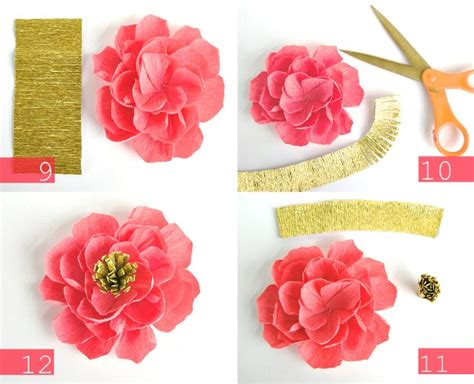 Make Crepe Paper Flowers - diy crepe paper flowers oh my handmade