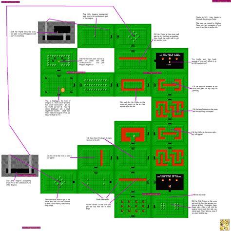 legend of zelda map dungeon 5 vgm maps and strategies