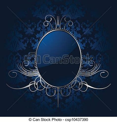 royal background stock illustration image of eps vectors of royal blue background with silver frame