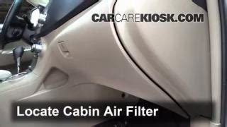 Bad Cabin Air Filter by Interior Fuse Box Location 2008 2013 Toyota Highlander