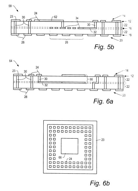 integrated circuit passive element patent us6362525 circuit structure including a passive element formed within a grid array