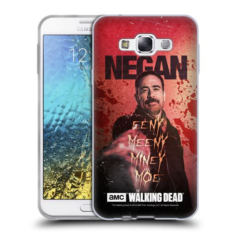 official amc  walking dead negan soft gel case  samsung phones  ebay