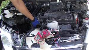honda how to testing your fans on your honda and civic
