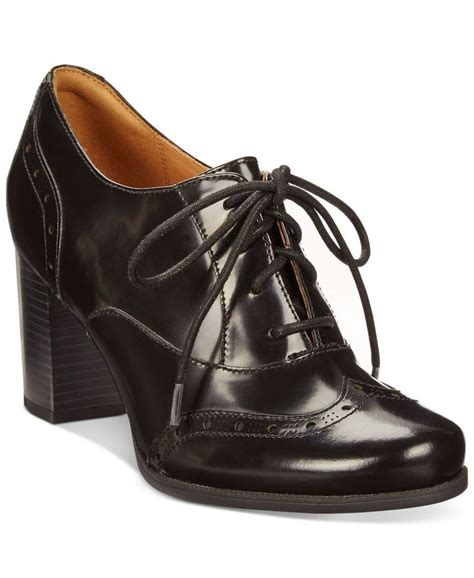 clarks womens oxford shoes clarks artisan s ciera brine oxford shooties