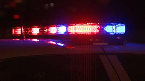 police lights at night marne man critically hurt in tallmadge township crash
