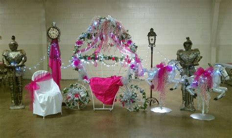 Quinceanera Chair Decorations Crafting Cinderella Themed Quincea 241 Era