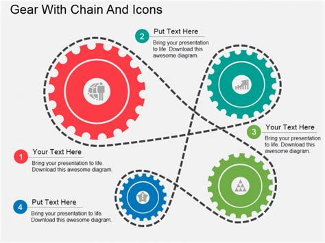 Powerpoint Tutorial 6 How To Make A Gear Diagram In Just 3 Simple Steps The Slideteam Blog Gears Powerpoint Template