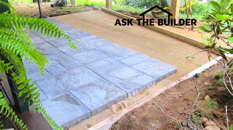 diy gravel and paver patio a new paver patio can be a diy no need for heavy gravel