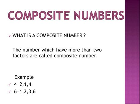 What Is Composition by Prime And Composite Numbers