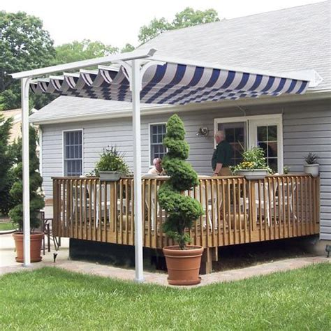 free standing awning for deck 17 best images about deck shade ideas on pinterest patio