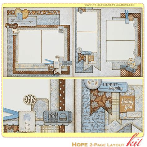 scrapbook layout for many pictures hope scrapbook page kit layout with instructions