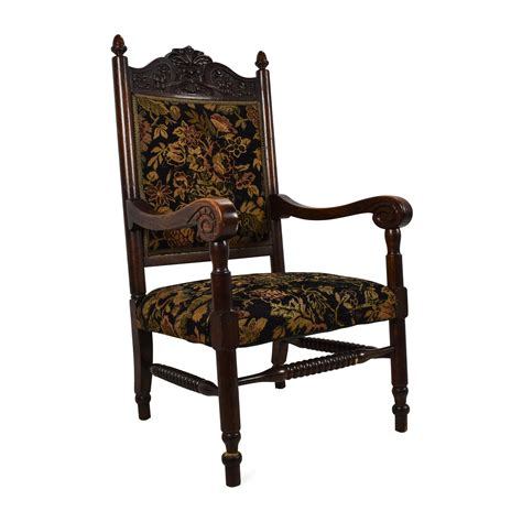 84 antique tudor upholstered chair chairs