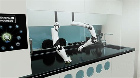moley automated kitchen uses pair of robotic arms to