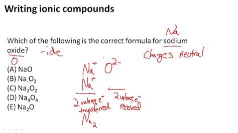 ionic tutorial with exles ionic bonding ck 12 foundation