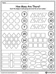 pattern writing for nursery pdf count the shapes in each group printable worksheets
