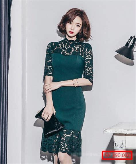 Baju Lavita Top Hm model baju pesta batik kombinasi satin empat blouse