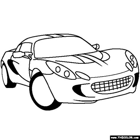 lotus car coloring page cars online coloring pages page 3