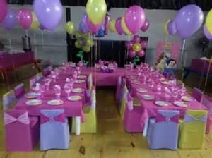 Party princess kids party decor at r35 per child gillits kzn