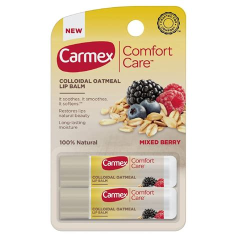 comfort care carmex comfort care mixed berry lip balm only 1 50 wyb 2