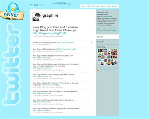 twitter layout preview seamless twitter backgrounds designfreebies