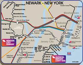 New York Path Map by City Of New York New York Map Path Train Route Map
