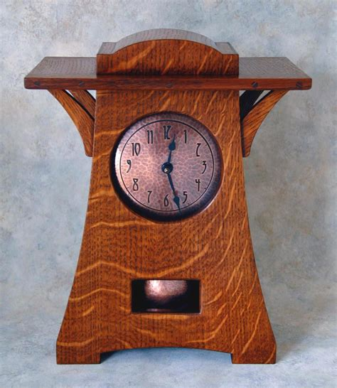 arts and crafts clocks