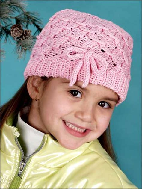knit kid hat pattern free accessory knitting patterns for smocked
