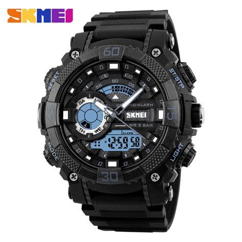 Skmei Watches Digital Led Display 30m Waterproof Aliexpress Buy Skmei 1228 Sport Digital