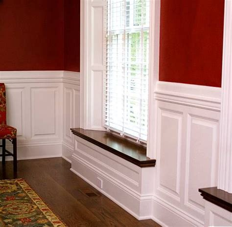 Window Sill Wrap 24 Best Intrig Wainscoting Images On