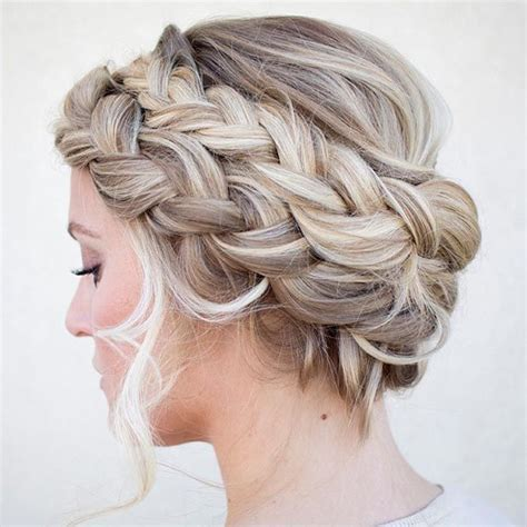 cute twa hairstyles wedding with crown 50 cute and trendy updos for long hair double french