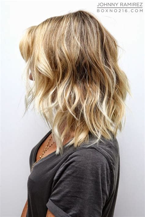 hairstlyes medium lenght beach wave this looks lovely i would need my hair permed and