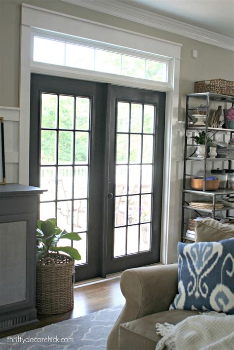 The Curse Of The Back Door Doors Black And Patio Doors Black Patio Doors