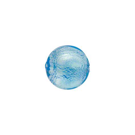 silver foil glass light aqua silver foil 10mm lentils murano glass wholesale
