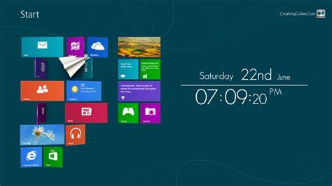 screenshot review downloads  demo win screensaver clock