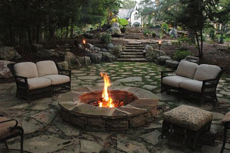 is it to burn wood in backyard 11 awesome outdoor fireplace and firepit design ideas