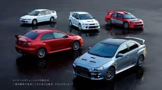 No More Mitsubishi Evo No More Mitsubishi Evolution Sedan Models For Now