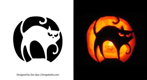 free printable scary pumpkin carving pattern designs image from http www designbolts wp content uploads