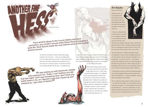 design magazine spread magazine spread hess by obsidian design on deviantart