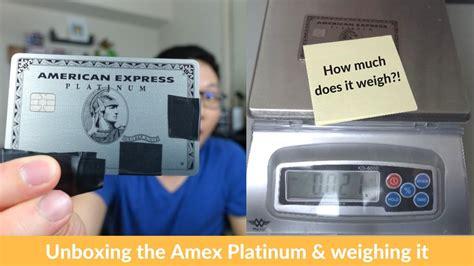 Amex Business Platinum Metal Card