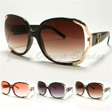 designer l shades squared oversized sunglasses designer fashion