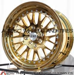 Gold Truck Rims For Sale 15x8 Esm 007 Wheels 4x100 114 3 Gold Platinum Rims 20