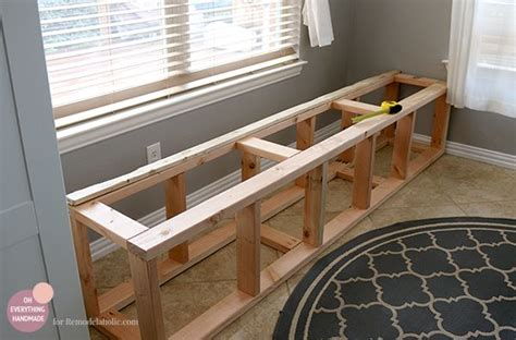 how to build a bench seat in kitchen 17 best ideas about banquette bench on pinterest