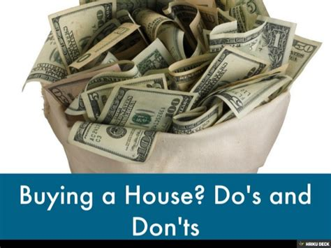 buying a house app buying a house do s and don ts