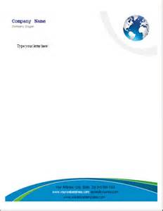 Ms Word Letterhead Templates by Ms Word Business Letterhead Templates Word Excel Templates
