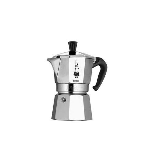Bialetti Moka Express Stovetop Espresso Maker   Lavazza USA