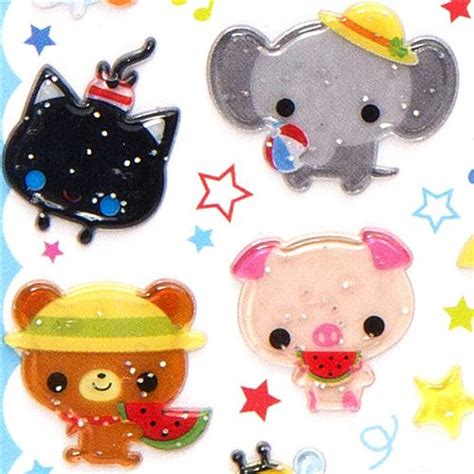 3d Sticker by 3d Stickers At The Summer Sticker Sheets